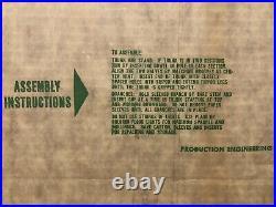 Vintage Sealed Peco Aluminum 1622 Silver Pom Pom Christmas Tree 5 10 RARE NOS