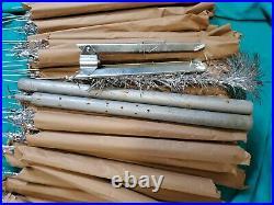 Vintage Silver 52 Pom Pom Christmas Tree Consolidated Novelty Co 4 1/2 NO BOX