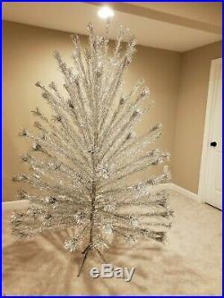 Vintage Silver 6' Aluminum Christmas Tree