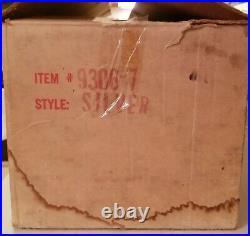 Vintage Silver Aluminum 6-1/2ft Christmas Tree