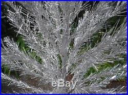 Vintage Silver Aluminum Christmas Tree 71