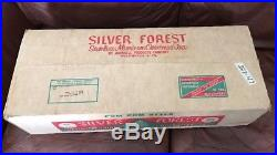 Vintage Silver Forest 6.5 Ft Aluminum Christmas Tree Nib