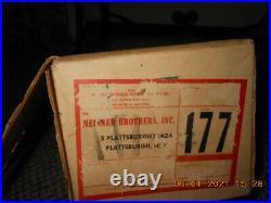 Vintage Star Band The Sparkler M-434 Pom Pom Aluminium 4 Christmas Tree Box