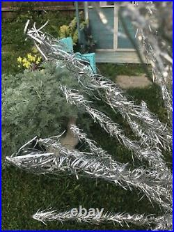 Vintage aluminum Christmas tree Taper tree 45 branches